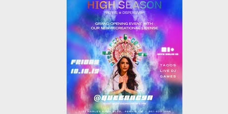 High Season Dispensary Grand Opening Party tickets