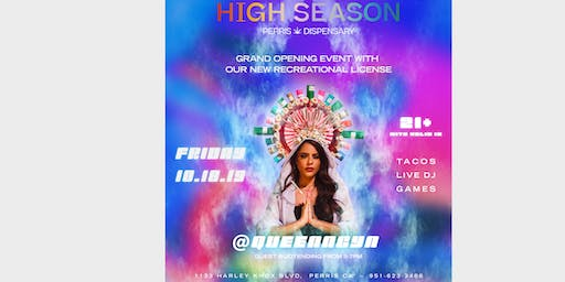 High Season Dispensary Grand Opening Party