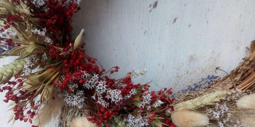Dried Christmas Wreath
