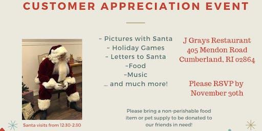 Holiday Customer Appreication Event