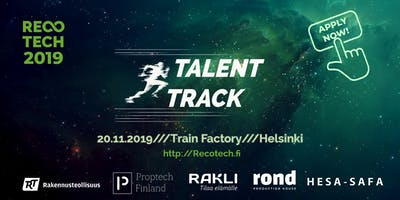 Talent Track RecoTech 2019