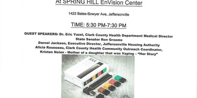 Community Conversation: Juuling Epidemic