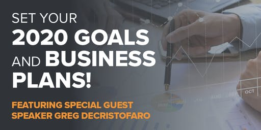 2020 Goals and Business Plans - How to Set Meaningful Goals - Lunch Included!