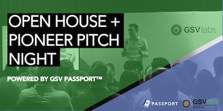 GSVlabs Boston Open House & Pitch Night tickets