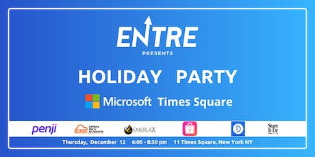 Startup Holiday Party at Microsoft  tickets