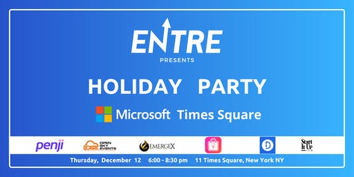 Startup Holiday Party at Microsoft