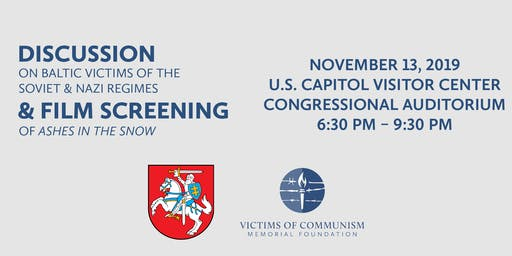 Film Screening & Discussion on Baltic Victims of the Soviet & Nazi Regimes