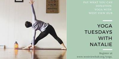 Yoga at West View Hub