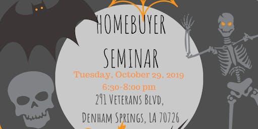 Spooktacular Homebuyer Seminar