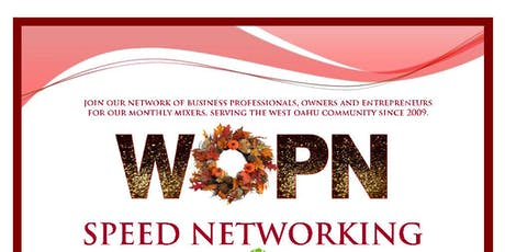 Business Mixer by West Oahu Professional Network (WOPN) tickets