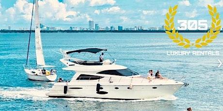 YACHT RENTAL WITH 2 JETSKIS INCLUDED - MIAMI BEACH FLORIDA  tickets