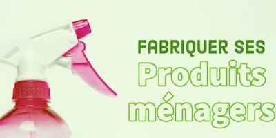Fabriquer ses produits ménagers
