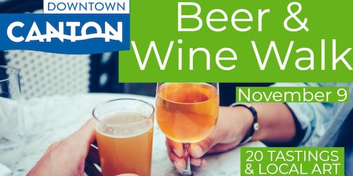 Downtown Canton Beer & Wine Walk