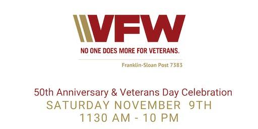 VFW Cary 50th Anniversary & Veterans Day Celebration