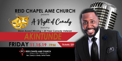 A Night of Comedy with Akintunde