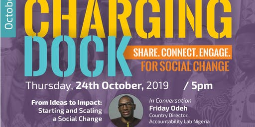 ChargingDock@eCove - Share. Connect. Engage. for Social Change (October)