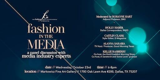 FGI of Dallas presents Fashion in the Media panel discussion