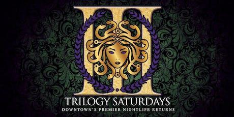 Trilogy Saturdays 10/19/19 tickets