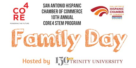 2019 CORE4 STEM Family Day at Trinity University tickets