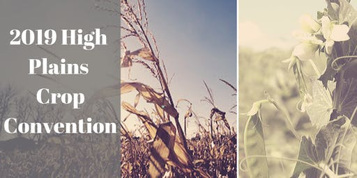 2019 High Plains Crop Convention
