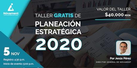 Taller de Planeación Estratégica 2020 para PYMES entradas