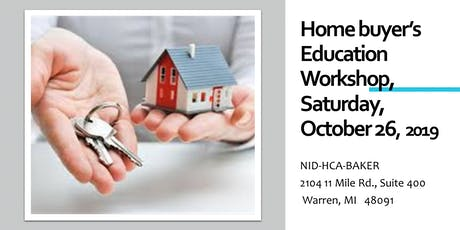First Time Home Buyer's Education Class tickets