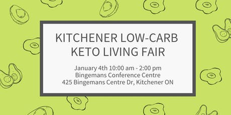 The Kitchener Low-Carb Keto Living Fair tickets