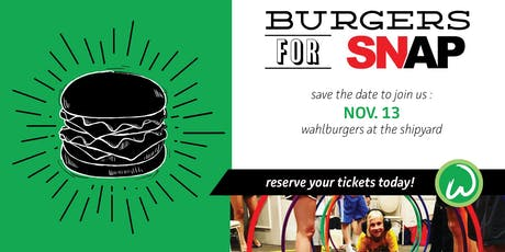 Burgers for SNAP tickets