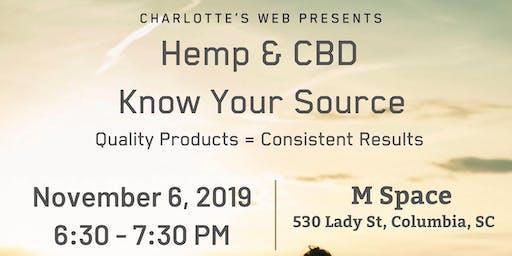 Charlotte's Web Hemp & CBD - Know your Source
