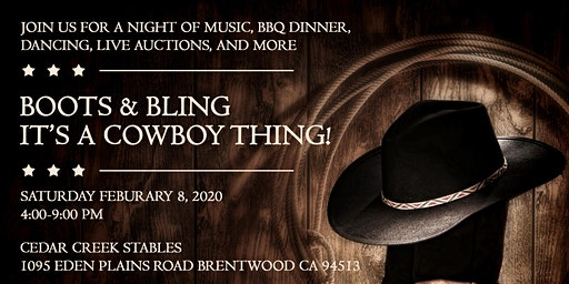 Second Annual Boots & Bling, It's a Cowboy Thing!