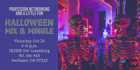 Halloween Mix & Mingle - Professional Networking & a Little Fun! tickets
