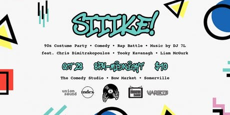 SIIIKE!! A hip-hop, comedy, & 90's dance party! tickets