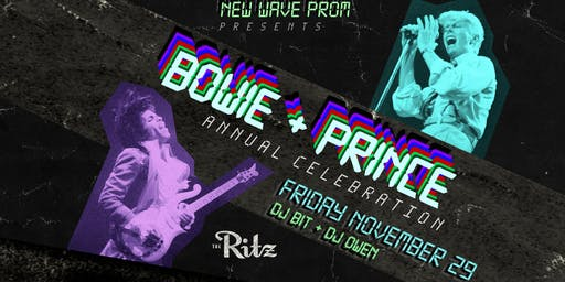 NEW WAVE PROM: PRINCE + BOWIE