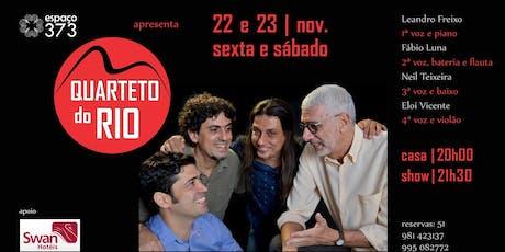 Quarteto do Rio (ex-Os Cariocas) ingressos