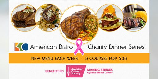 3 Course Charity Dinner Series #BeatBreastCancer