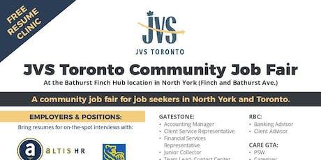 Community Job Fair tickets