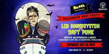 LCD Soundsystem vs. Daft Punk: Halloween Boat Party Edition tickets