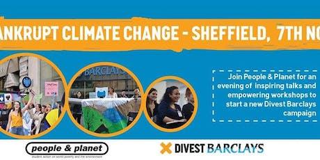 Divest Barclays Mobiliser Tour - Sheffield tickets