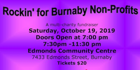 Rockin' for Burnaby Non Profits tickets