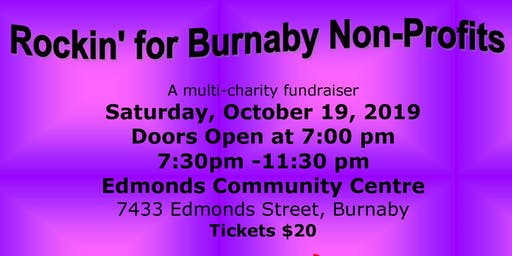 Rockin' for Burnaby Non Profits