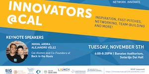 2019 Innovators@Cal: Fostering Innovation Across UC...