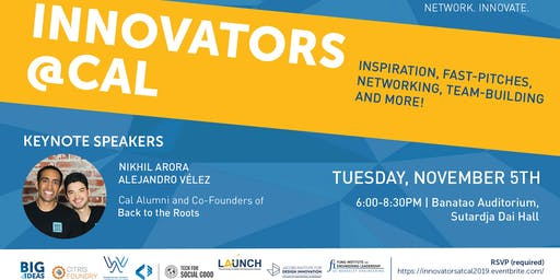 2019 Innovators@Cal: Fostering Innovation Across UC Berkeley