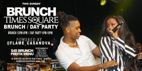 KOMPA/GOUYAD ( BRUNCH/DAY PARTY ) IN TIMES SQUARE  LADIES FREE )  #KOMPA #SOCA #REGGAE #ZAZOO tickets