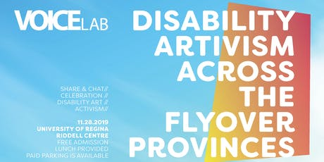 Disability Artivism Across the Flyover Provinces tickets