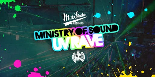 The UV Rave at Ministry of Sound, Milkshake