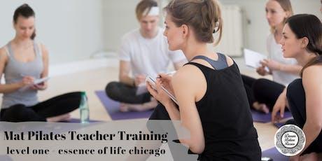 Mat Pilates Teacher Training : Level 1 : ACE Certified : Chicago tickets