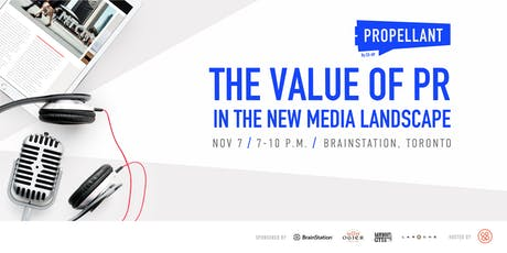 Propellant: The Value of PR in the New Media Landscape tickets