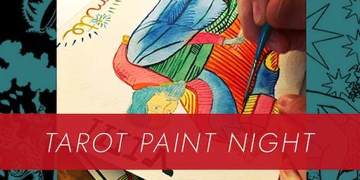 Tarot Paint Night