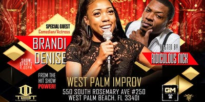 Uproar At The Improv Featuring Brandi Denise