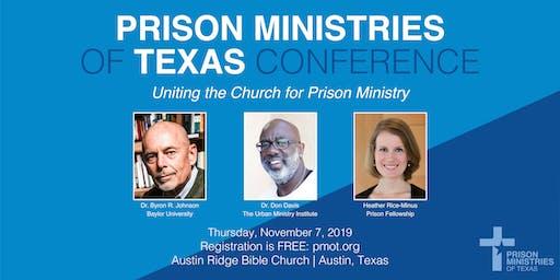 2019 Prison Ministries Conference